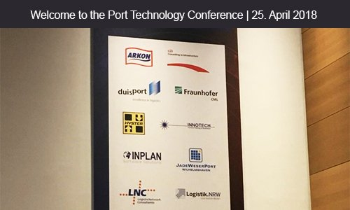 Port Technology Conference auf der CeMAT
